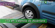 ITV en Valencia de Alcántara