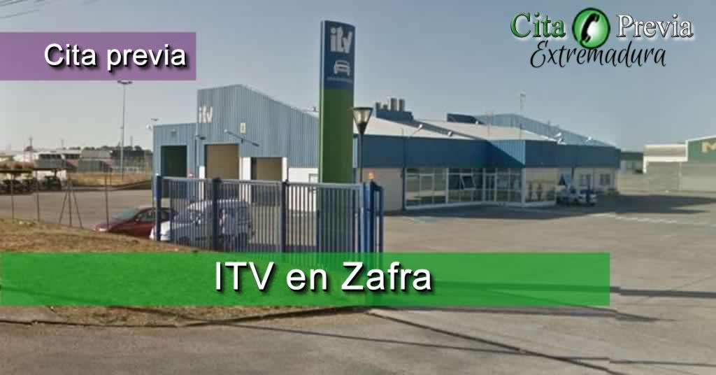 Estación ITV Junta de Extremadura en Zafra, Badajoz
