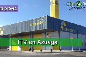 Itv itevebasa en Azuaga Badajoz