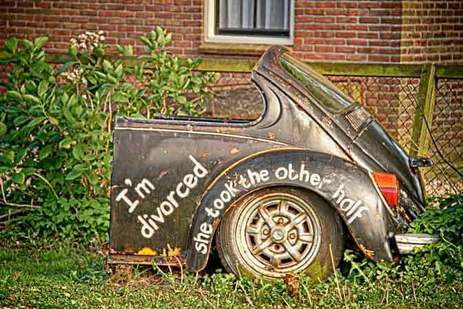coche divorcio