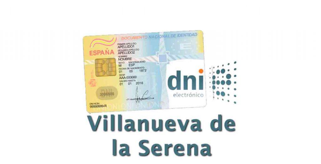 Cita DNI Villanueva de la serena