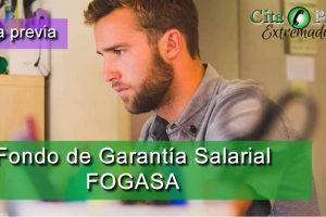 Cita previa Fogasa Badajoz y Cáceres