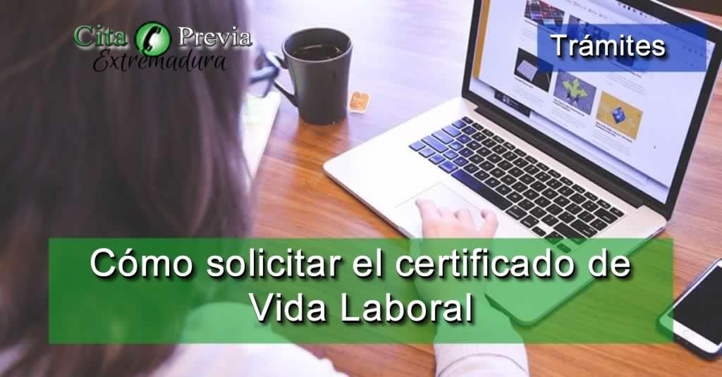 como solicitar certificado de vida laboral